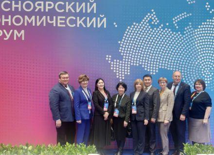 Председатель Контрольно-счетной палаты приняла участия в мероприятиях, проводимых Счетной палатой Красноярского края