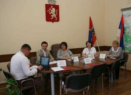 Состоялось заседание коллегии Контрольно-счетной палаты города Красноярска
